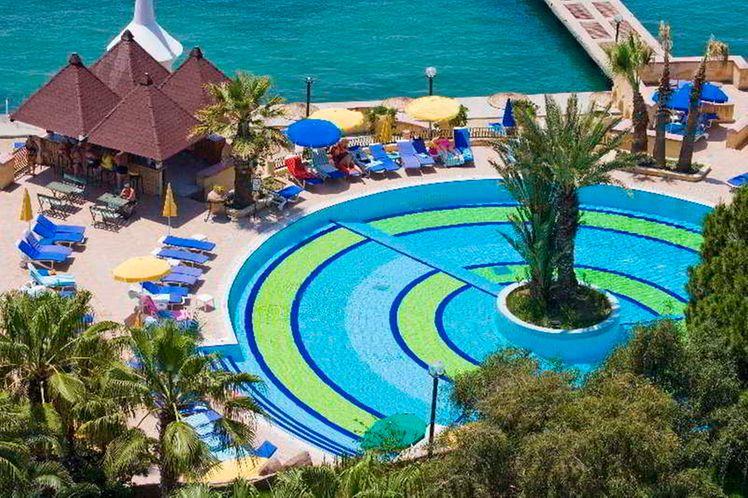 Fantasia Hotel De Luxe Kusadasi Izmir Holidays To Turkey 2bookaholiday